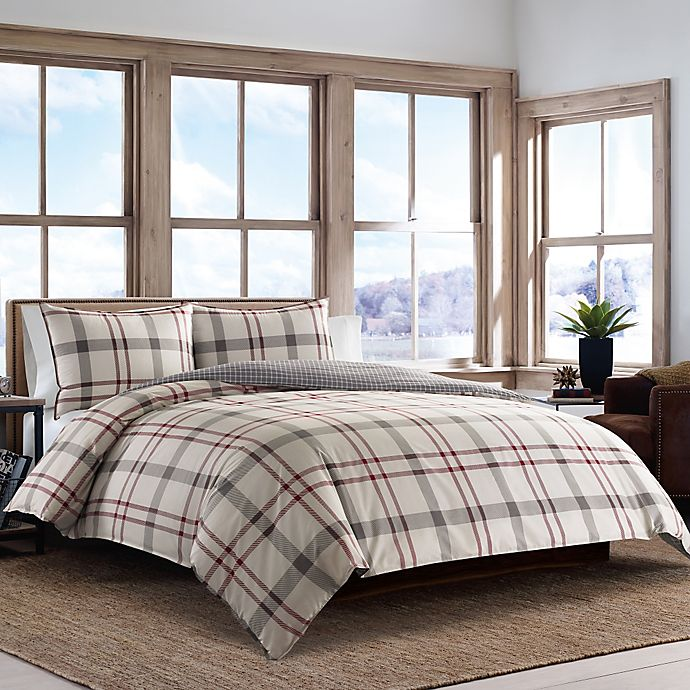 Alternate image 1 for Eddie Bauer® Portage Bay Comforter Set in Beige