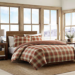 Eddie Bauer® Edgewood Plaid Twin Comforter Set in Red