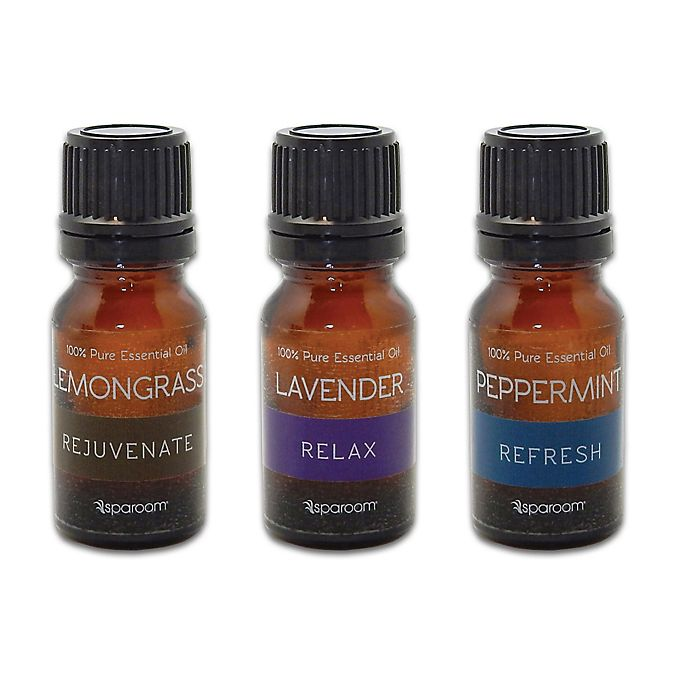 Alternate image 1 for SpaRoom® 3-Pack Essential Oils