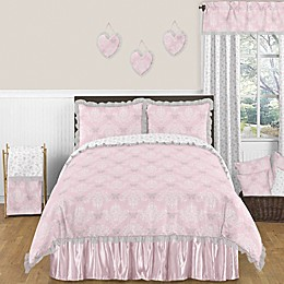 Sweet Jojo Designs Alexa Bedding Collection in Pink/White