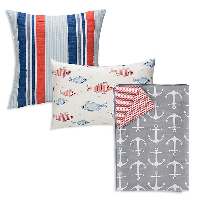 Glenna Jean Fish Tales Bedding Collection | Bed Bath and