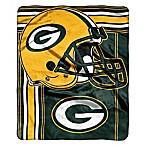 NFL Green Bay Packers Royal Plush Raschel Throw