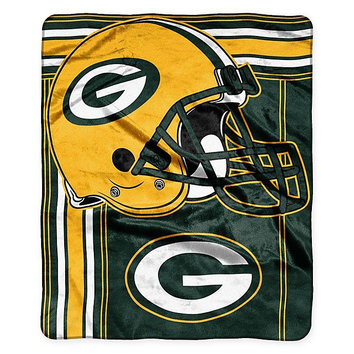 5e5b726cbd45 NFL Green Bay Packers Royal Plush Raschel Throw