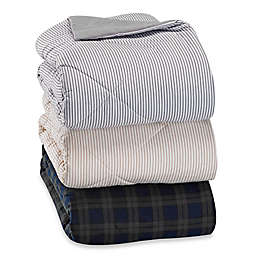 The Seasons Collection® Flannel Reversible Comforter