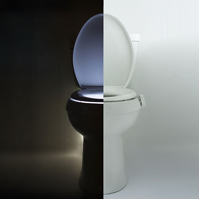 Alternate image 1 for Illumibowl™ Never Fall Motion Activated Toilet Night Light™