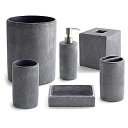 Kassatex Mesh Bath Accessory Collection in Grey