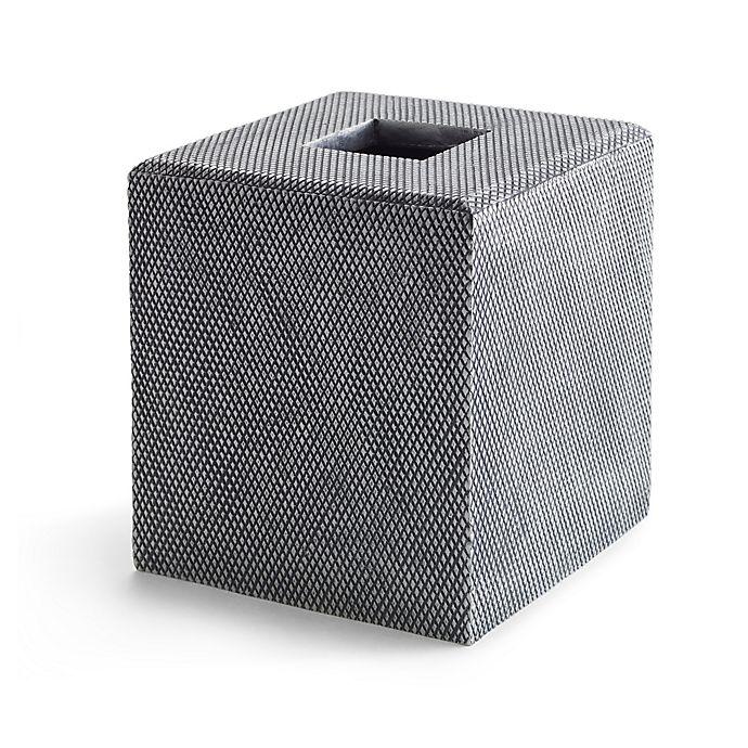Alternate image 1 for Kassatex Mesh Tissue Holder in Grey