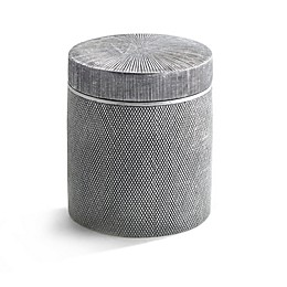 Kassatex Mesh Cotton Jar in Grey
