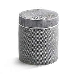 Kassatex Mesh Cotton Jar in Grey