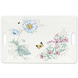 Lenox® Butterfly Meadow® Melamine Handled Serving Tray