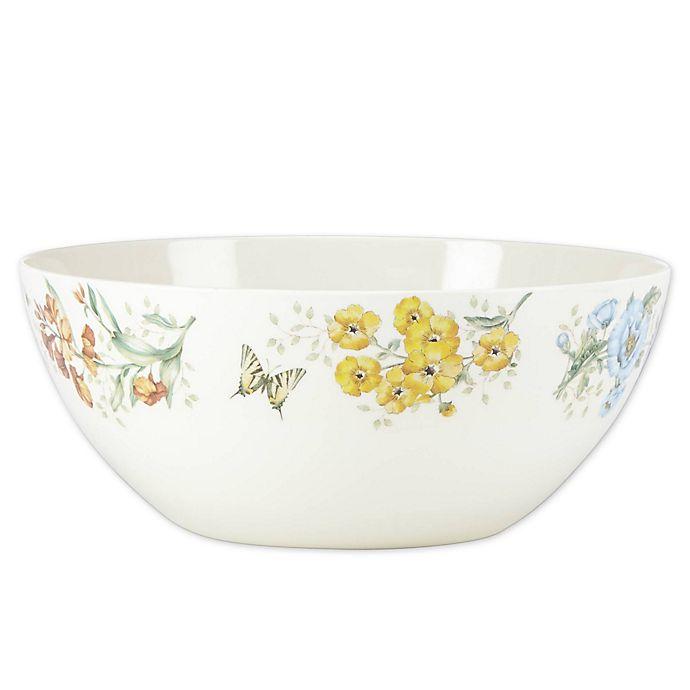 Alternate image 1 for Lenox® Butterfly Meadow® Melamine Serving Bowl