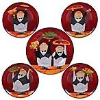 Certified International Waiters 5-Piece Pasta Bowl Set