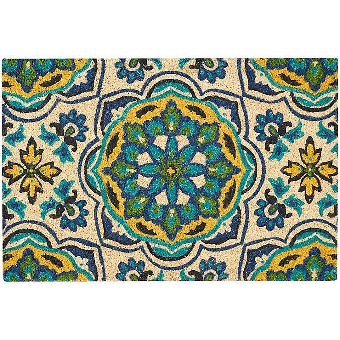 Alternate image 1 for Nourison Waverly Greetings Tapestry Door Mat