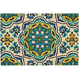 Nourison Waverly Greetings Tapestry Door Mat