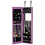 Jewelry Armoire in Purple