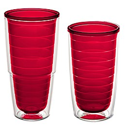 Tervis® Clear and Colorful Red Tumbler