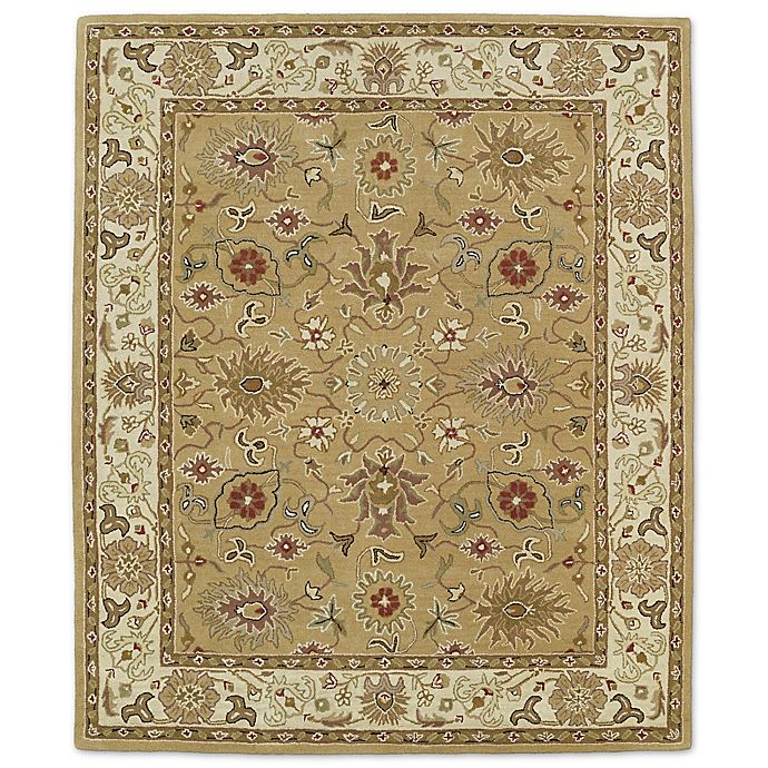 Alternate image 1 for Kaleen Taj Shahrud 5-Foot x 7-Foot 9-Inch Rug in Camel