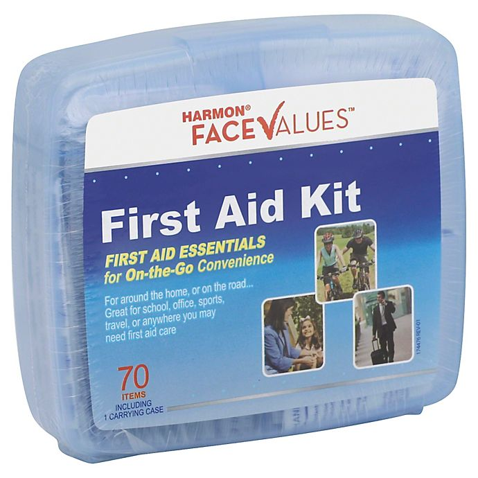Alternate image 1 for Harmon® Face Values™ 70-Piece First Aid Kit