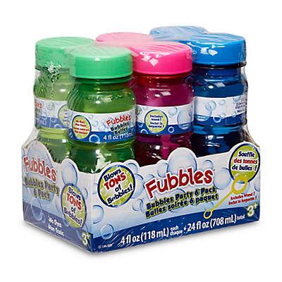 Little Kids® Fubbles™ 6-Pack 4 oz. Bubble Solution