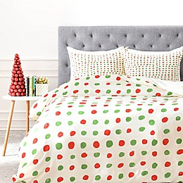 Deny Designs Leah Flores Holiday Polka Dots Collection