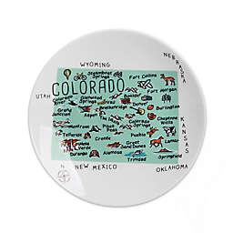 My Place Colorado Appetizer Plates (Set of 4)