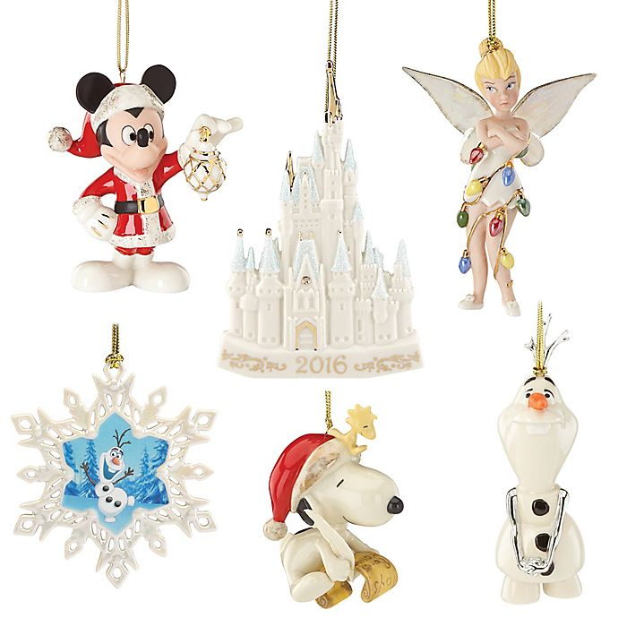 Lenox 174 2016 Novelty Christmas Ornament Collection Bed
