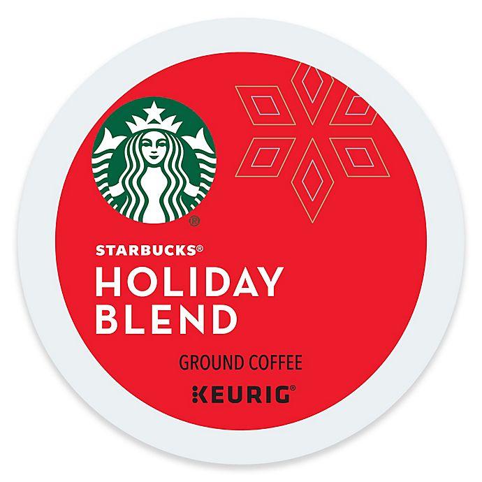 Alternate image 1 for Keurig® K-Cup® Pack 16-Count Starbucks® Holiday Blend Coffee