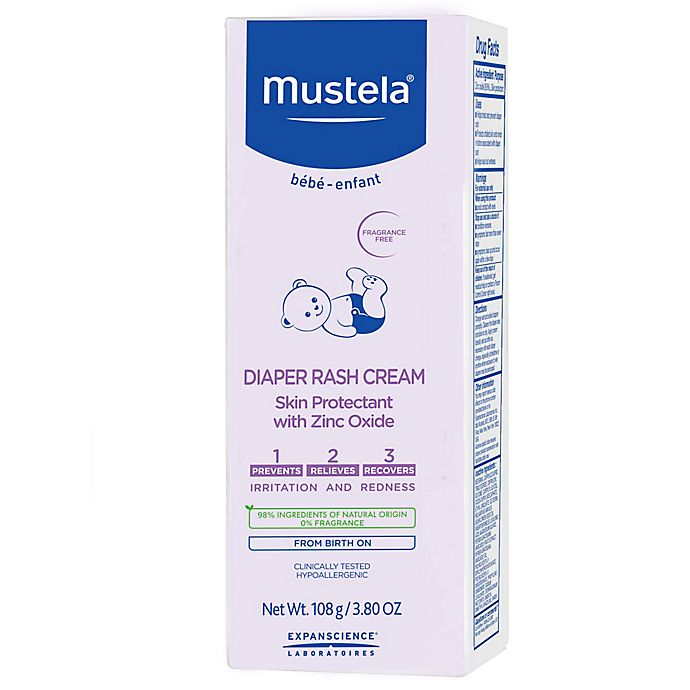 Alternate image 1 for Mustela® Bébé 3.8 oz. Diaper Rash Cream