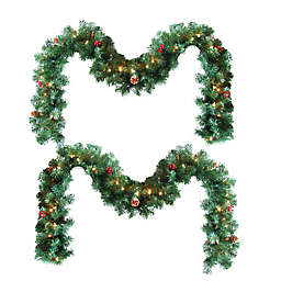 Lighted Garland (Set of 2)