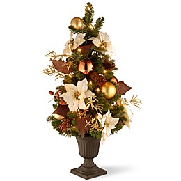 National Tree Company 3-ft. Inspired by Nature Entrance Tree w/Clear Lights