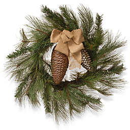 National Tree Company 30-Inch Bristle Branch Christmas Wreath