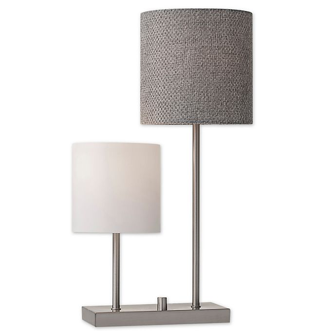 Alternate image 1 for Adesso® Aubrey Table Lamp in Brushed Steel