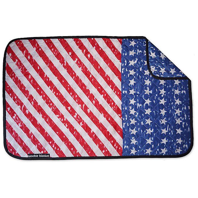 Alternate image 1 for US Flag Woobie Blanket