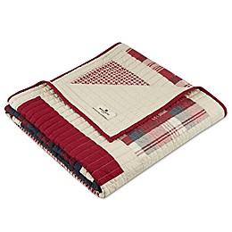 Woolrich Huntington Quilted Throw in Red