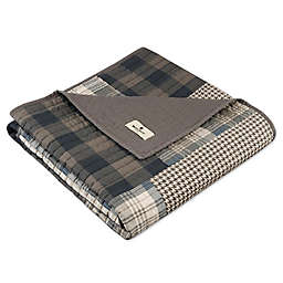 Woolrich Winter Plains Quilted Throw in Tan