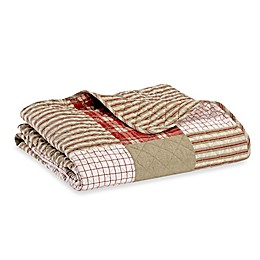 Eddie Bauer® Camano Island Throw Blanket in Red Plaid