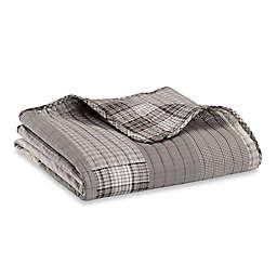 Eddie Bauer Fairview Throw Blanket in Grey