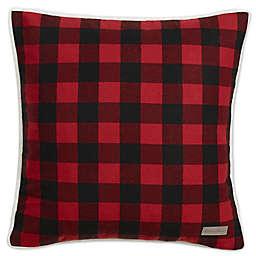 Eddie Bauer® Cabin 20-Inch x 20-Inch Throw Pillow in Dark Red