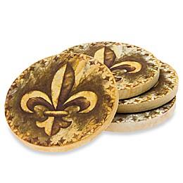 Fleur-de-Lis Coasters (Set of 4)