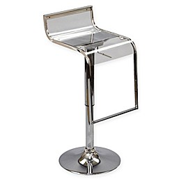 Modway LEM Acrylic Bar Stool in Clear