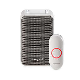 Honeywell Series 3 Plug-In Wireless Doorbell with Strobe Light and Pushbutton