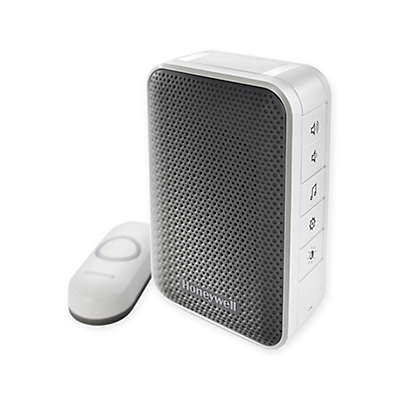 Honeywell Series 3 Portable Wireless Doorbell with Strobe Light and Pushbutton