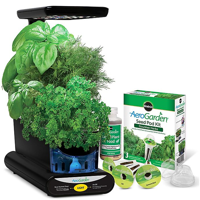 Alternate image 1 for AeroGarden™ Sprout LED with Gourmet Herb Seed Pod Kit