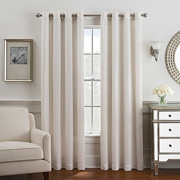 Alternate image 1 for Coco Grommet Top Window Curtain Panel