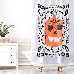 Deny Designs Zoe Wodarz Pumpkin Paisley Curtain