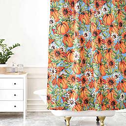 Deny Designs Aimee St. Hill Pumpkin Harvest Shower Curtain