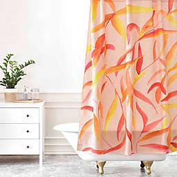 Deny Designs Rosie Brown Autumn Leaves Shower Curtain