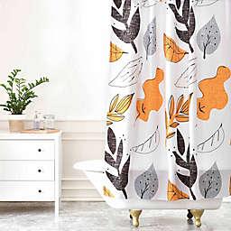 Deny Designs Mummysam Fall Leaves Shower Curtain