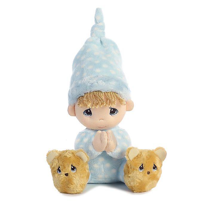 Alternate image 1 for Precious Moments® Precious Boy Prayer Doll with Blonde Hair