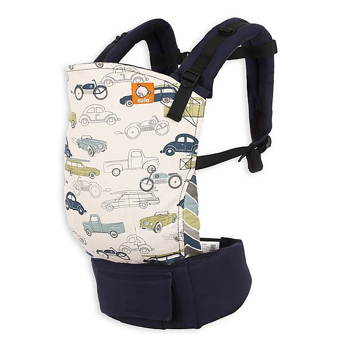 Alternate image 1 for Baby Tula Slow Ride Baby Carrier in Navy Blue